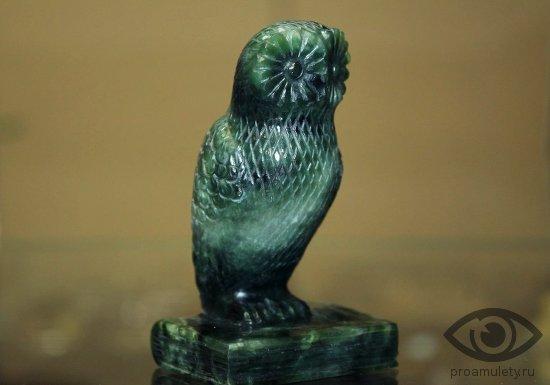 statujetka-sova-nefrit-vodolej-zodiak