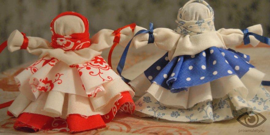 Изготовление своими руками кукол-оберегов