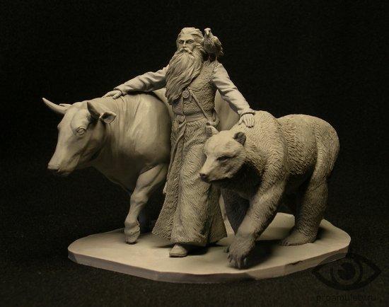 veles-medved-voron-korova-statujetka