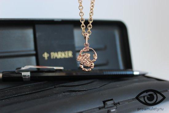 mehanicheskij-karandash-parker-kulon-znaka-zodiaka-skorpion
