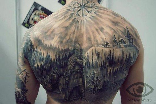 koljadnik-obereg-znachenie-tatu-tatuirovka-na-spine-vojska