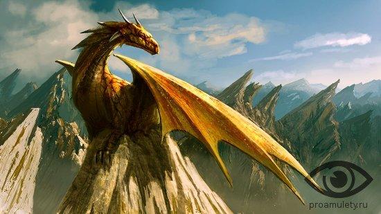 drakon-na-skale